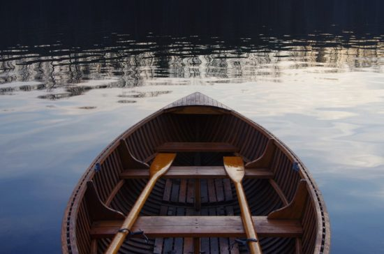 boat, rowing, swimming